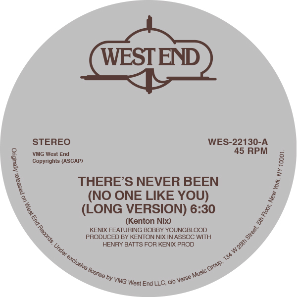 End Records Label Label West End Records