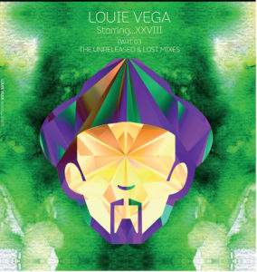 LOUIE VEGA STARRING...XXVIII UNRELEASED & LOST MIXES VR 414-3 8MM SPINE GATEFOLD