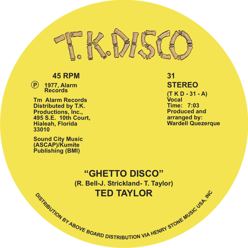 TKDISCO031 Ted Taylor art