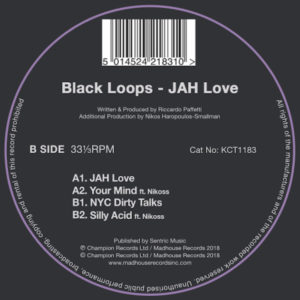 KCT1183 - Black Loops - JAH Love B