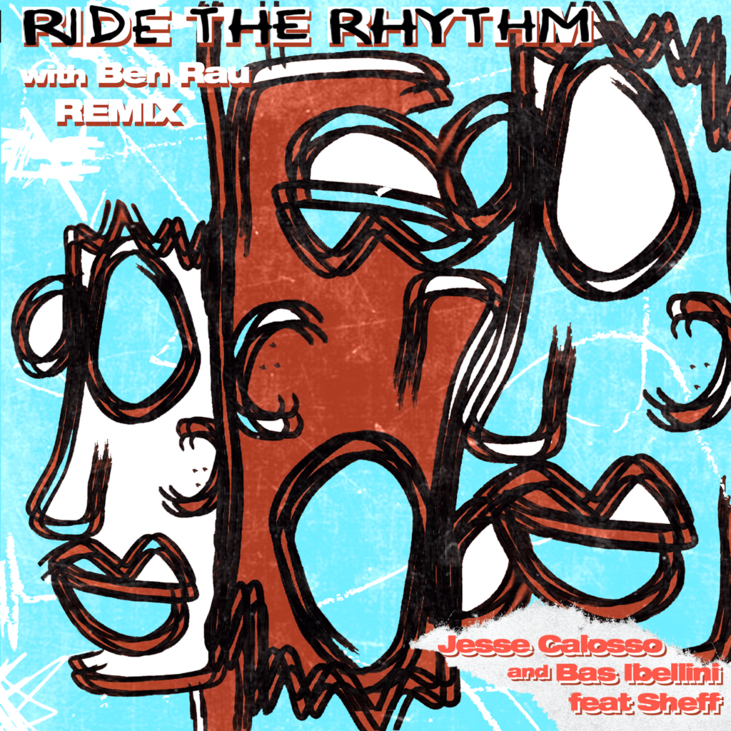 RIDE THE RHYTHM COVER ARTWORK