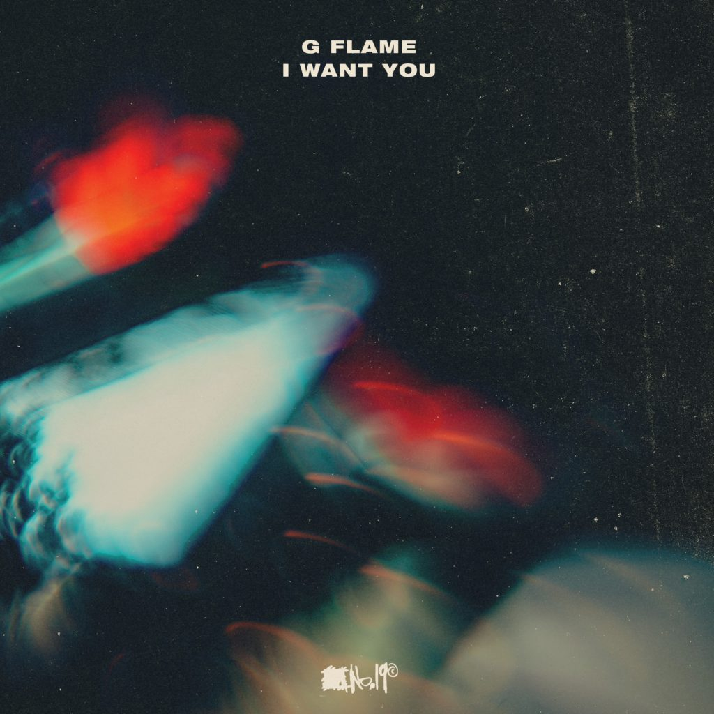G Flame LP Front Cover - Square